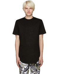 Pyer Moss Black Zipper T Shirt