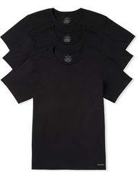 Calvin Klein 3 Pack Cotton T Shirt
