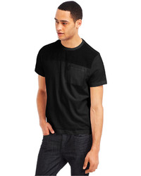 Kenneth Cole Reaction Chambray Crew Neck T Shirt