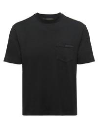 Prada Chest Pocket Logo T Shirt