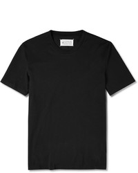 Maison Martin Margiela Cotton Jersey Crew Neck T Shirt