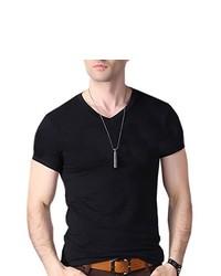 Honey GD Crew Neck Slim Casual Cotton Tees Shirt