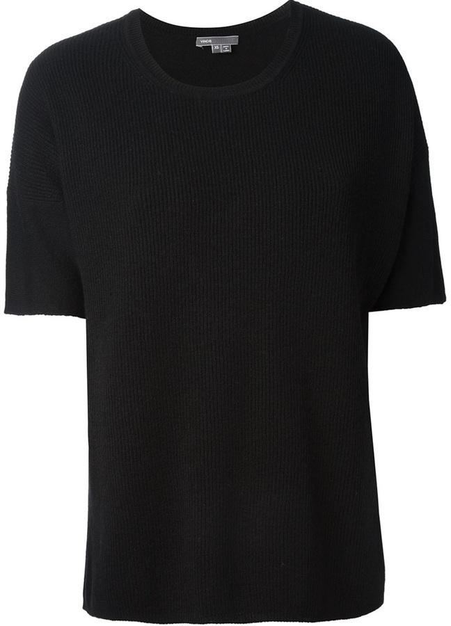 Vince Crew Neck T Shirt