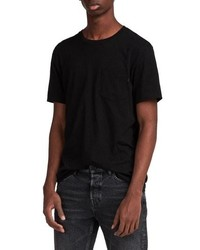 AllSaints Cure Tonic Slim Fit Pocket T Shirt