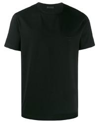 Prada Embroidered Logo T Shirt
