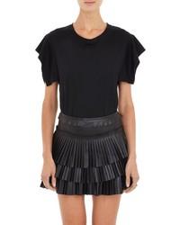 Isabel Marant Flyaway Sleeve Felipe T Shirt Black