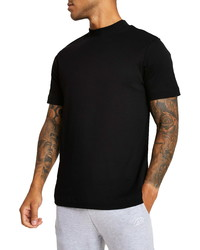 River Island High Neck T Shirt