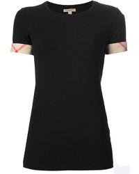 House check cuffs t shirt medium 173436