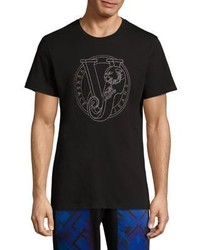 Versace Jeans Cotton Short Sleeves T Shirt