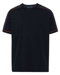 Prada Jersey T Shirt With Inserts