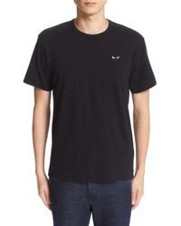 Comme Des Garcons Play Logo Graphic T Shirt