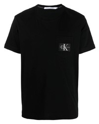 Calvin Klein Jeans Logo Patch T Shirt