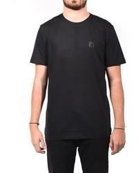 Versace Medusa Logo Crew Neck T Shirt