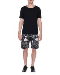 Dolce & Gabbana Short Sleeve Crewneck T Shirt Black