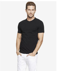 Express Stretch Cotton Crew Neck Tee