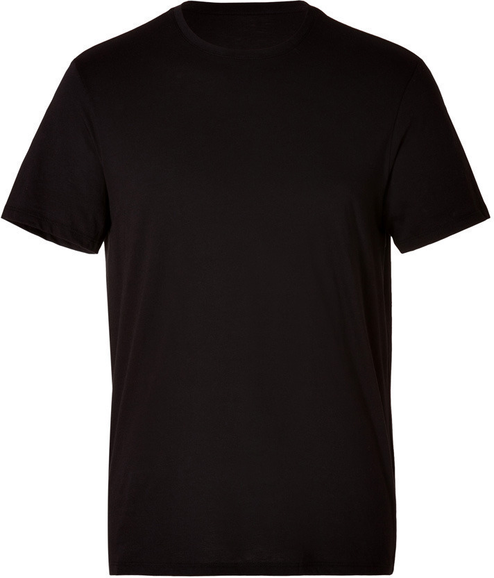 Vince Cotton Crew Neck T Shirt In Black | Where to buy & how to wear