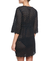 Tory Burch Broiderie See Through Coverup Tunic