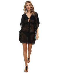 Bleu Rod Beattie Crochet Caftan Cover Up