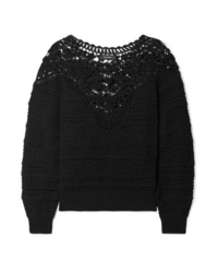Isabel Marant Camden Crocheted Cotton Sweater