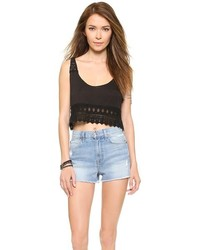 Bettinis Lace Crop Top