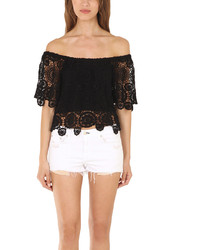 Nightcap Clothing Nightcap Car Crochet Top