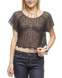 Ya Los Angeles Crochet Crop Top