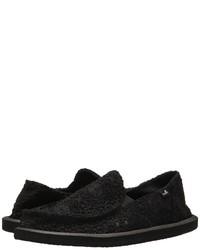 Sanuk Donna Crochet Slip On Shoes