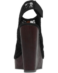 b6d183f1152 ... Lucky Brand Rezdah2 Crochet Platform Wedge Sandals ...