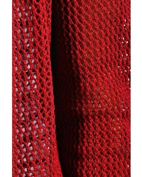 Boohoo Irana Crochet Knit Cardigan