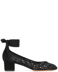 Tabitha Simmons Minnie Daisy Crochet Pumps