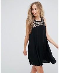 Spirea shift dress with crochet neckline medium 4420927