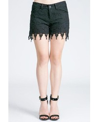 MUR Crochet Lace Shorts