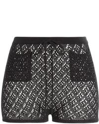 Emilio Pucci Crochet Shorts