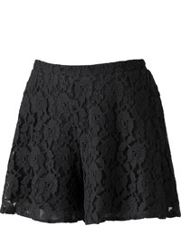 Mudd Crochet Lace Skater Shorts Juniors