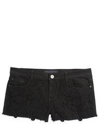 Tinsel Crocheted Accented Cut Off Shorts