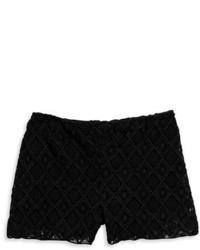 Tinsel Crocheted Shorts