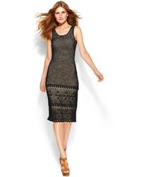 MICHAEL Michael Kors Michl Michl Kors Sleeveless Crochet Sweater Dress