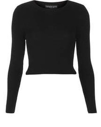 Black cropped sweater original 4662014