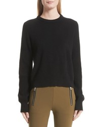 Ace cashmere crop sweater medium 5209094