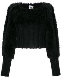 Comme des Garcons Comme Des Garons Noir Kei Ninomiya Cropped Sweater