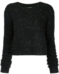 Public School Speckled Cropped Sweater