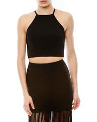 Torn By Ronny Kobo Adalia Crop Top