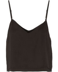 Alice + Olivia Cropped Crepe Top