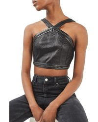 Topshop Bandage Crop Top