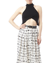 Best Cody Black Crop Top
