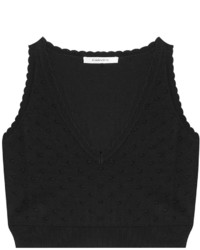 Carven Scalloped Crop Top