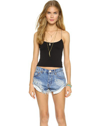 Free People Cropped Skinny Cami
