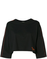 Versace Cropped Sports Top