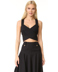 Derek Lam Cross Over Crop Top