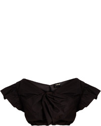 Rachel Comey Crush Cotton Poplin Cropped Top